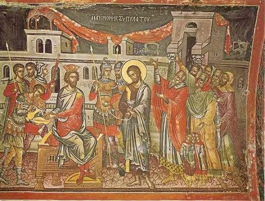 Хотите ли, чтобы я отпустил вам Иисуса, так называемого Христа, Царя Иудейского