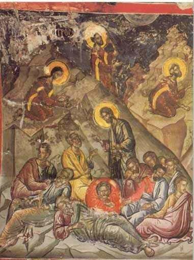 Душа Моя, – так говорил Он, – прискорбна до смерти! Побудьте здесь, бдите со Мной и молитесь!..