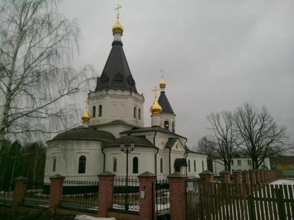 храм прпп. Сергия и Никона Радонежских