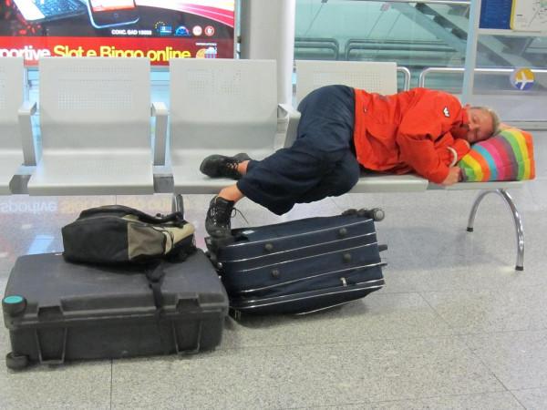аэропорт Катани- любимая спит