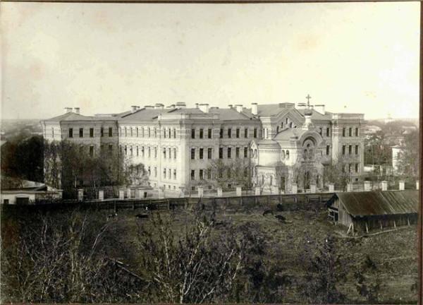 Тверская Духовная семинария, фото начала XX века