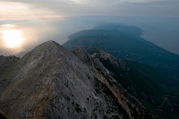Святая Гора, фото с самолета 6