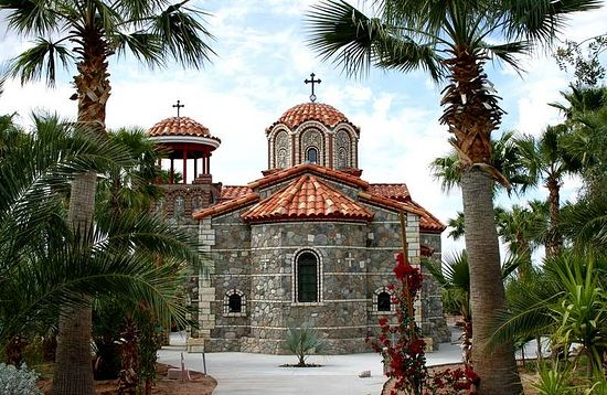 Монастырь святого Антония, основанный старцем Ефремом в США