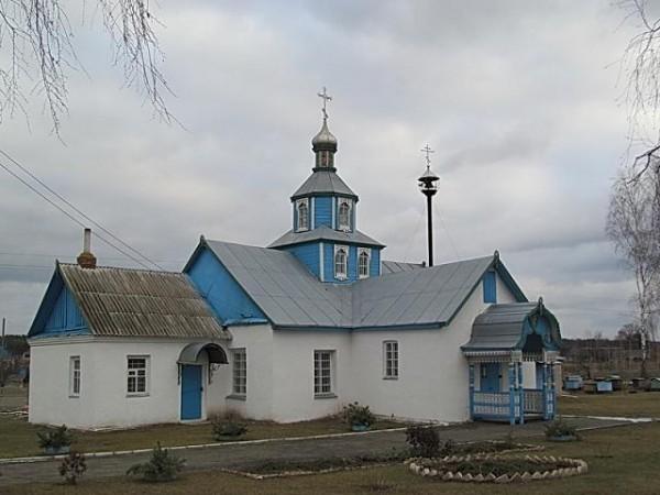 Троицкая церковь в селе Таль, Минская обл.
