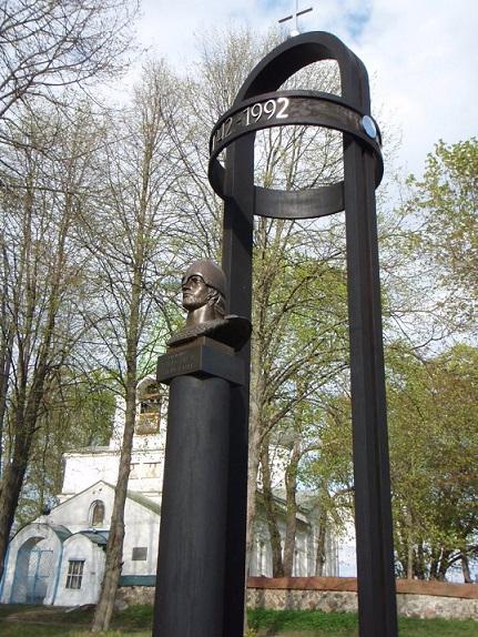 Памятник Александру Невскому, к 750 летию Победы в Ледовом Побоище