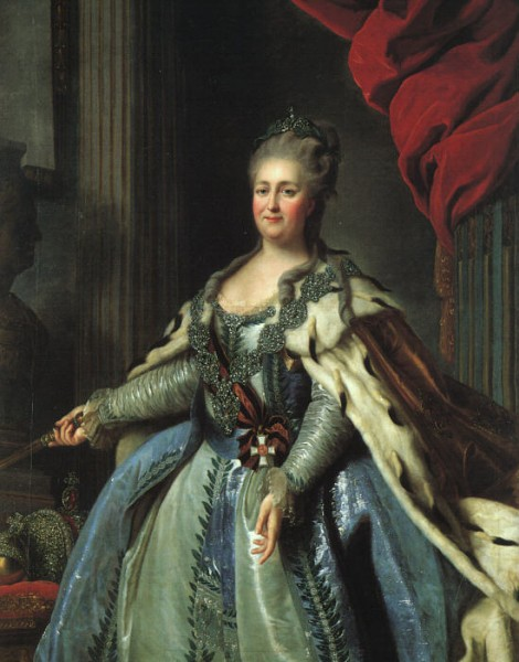Екатерина II Великая, (1729-1796) российская императрица