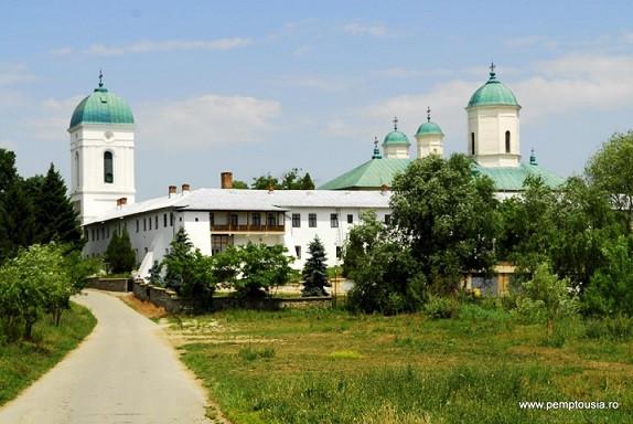 Монастырь Черника под Бухарестом, Румыния. В этом монастыре почивают мощи святителя Каллиника