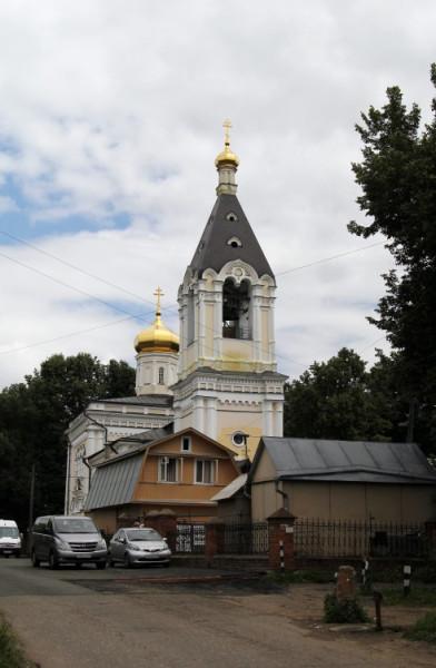 Церковь Николая Чудотворца - Ромашково - Одинцовский район, г. Звенигород
