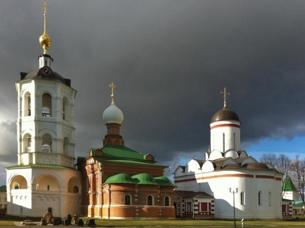 Николо-Пешношский монастырь - Луговой - Дмитровский район - Московская область , восстанавливается