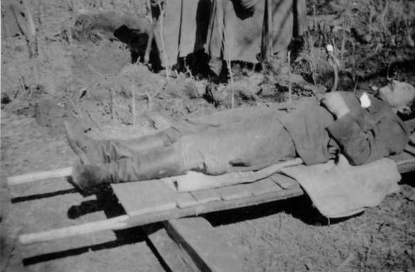 19 апреля 1942 г. чтобы не попасть в плен, застрелился советский генерал М.Г. Ефремов