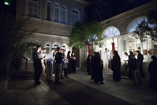 Пасха и Светлая седмица в Русском монастыре на Афоне 3
