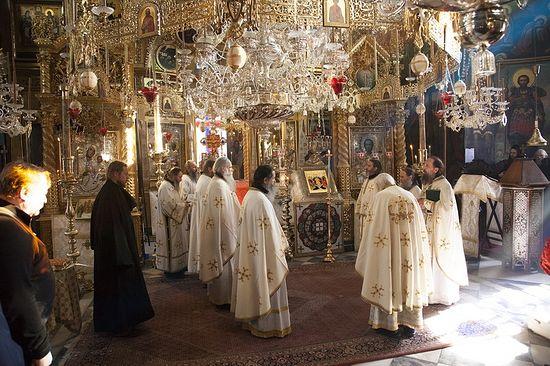 Пасха и Светлая седмица в Русском монастыре на Афоне 5