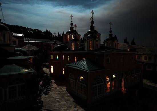 Пасха и Светлая седмица в Русском монастыре на Афоне 6