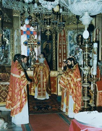 Пасха и Светлая седмица в Русском монастыре на Афоне 8