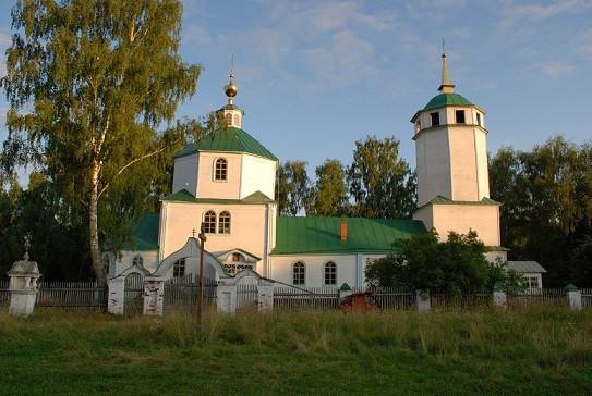 Церковь Покрова Пресвятой Богородицы - Сынтул - Касимовский район