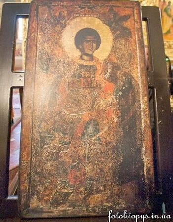икона вмч. Георгия Победоносца