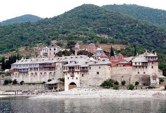 Монастырь Ксенофонт, Афон
