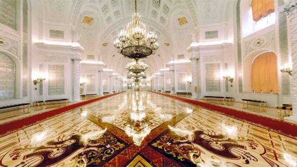 Георгиевский зал московского Кремля
