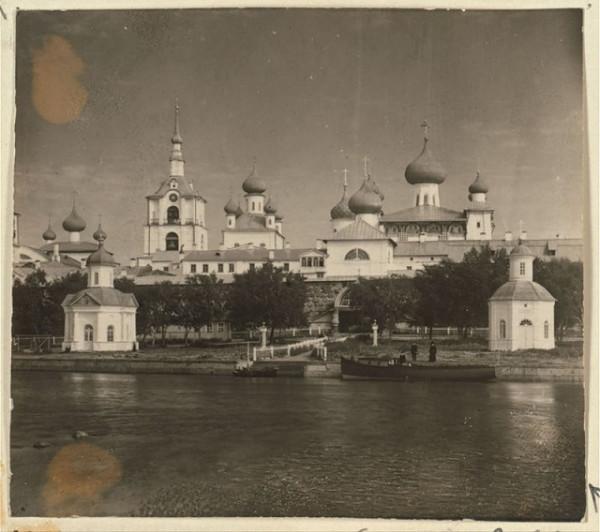 Соловецкий Зосимо-Савватиевский Спасо-Преображенский монастырь, фото 1905-1915гг.