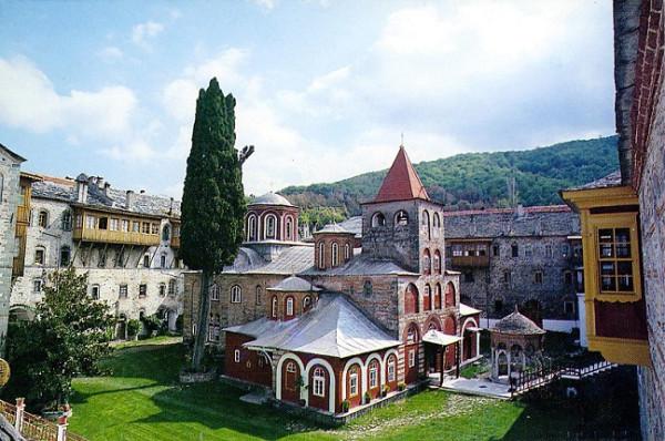 Монастырь Филофей (Φιλοθέου) на Святой Горе Афон