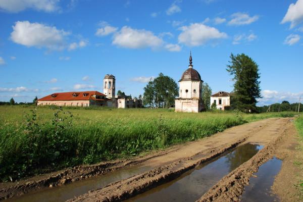 Александро-Ошевенский мужской монастырь, восстанавливается
