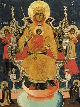 Икона Богородицы Кипрская 1