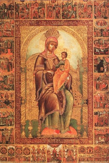 Икона Богородицы Кипрская