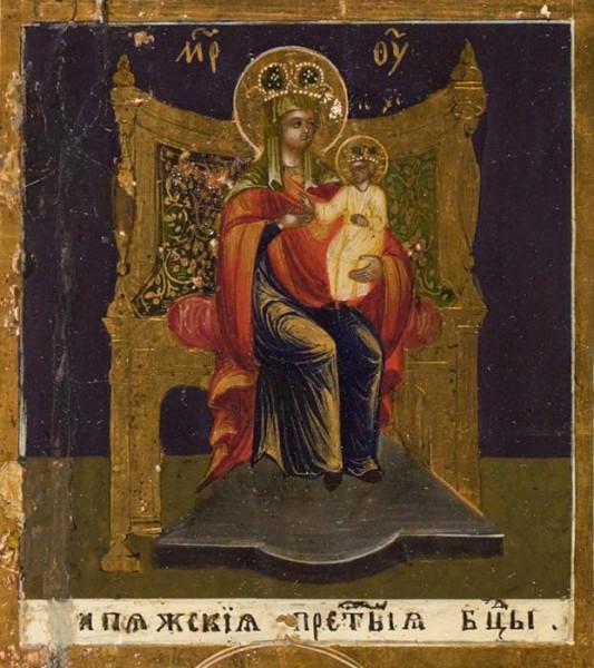 Икона Богородицы Кипяжская