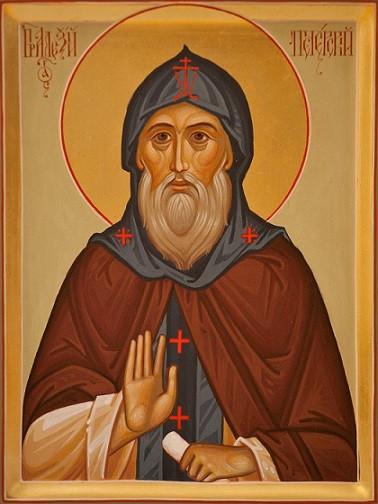 Преподобный Алексий Печерский, затворник