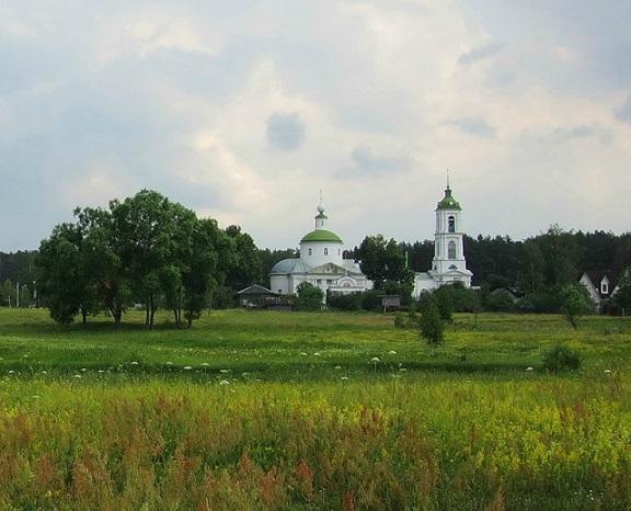 Церковь Рождества Пресвятой Богородицы - Саурово - Павлово-Посадский район