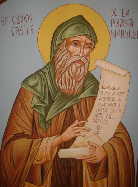 Преподобный Василий Поляномерульский (Пояна-Мэрулуйский)