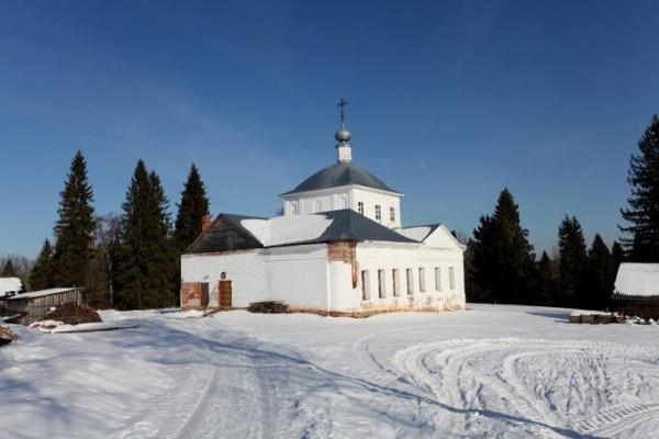 Церковь Воскресения Христова - Воскресенское - Любимский район - Ярославская область