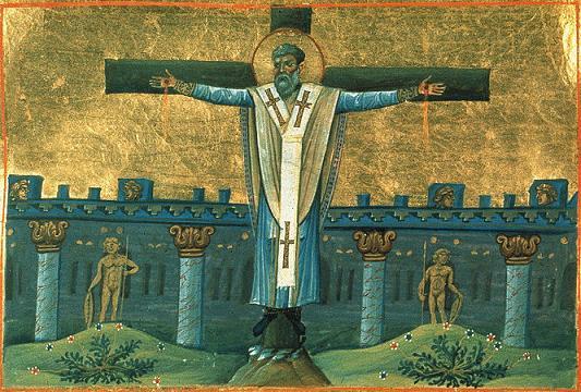 Апостол от 70-ти Симеон Иерусалимский, сродник Господень по плоти, епископ
