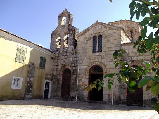 Храм свв. апостолов Иасона и Сосипатра на Корфу
