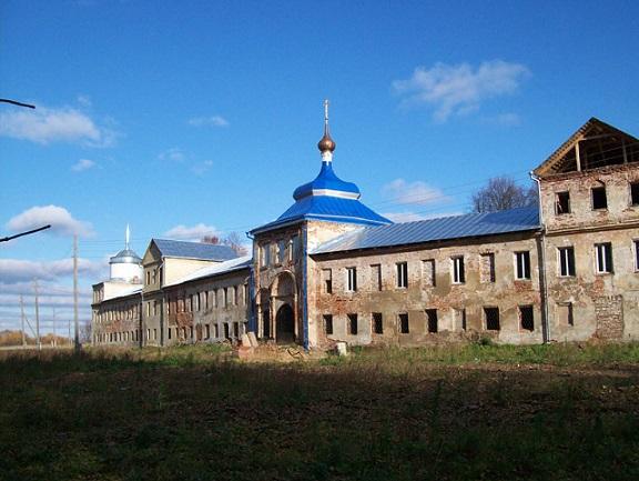 Николо-Бабаевский монастырь - Некрасовское - Ярославская область, восстанавливается