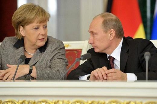Путин-Меркель