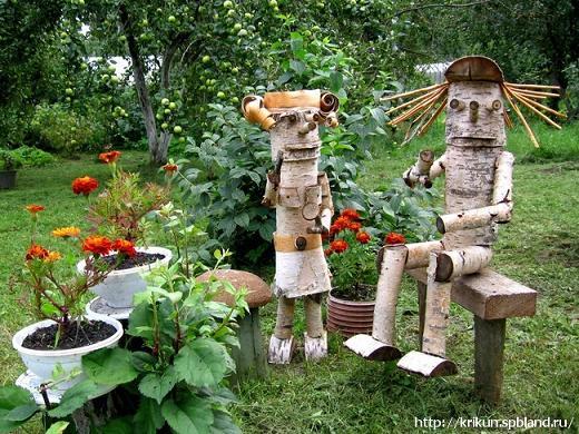 _деревянные фигурки