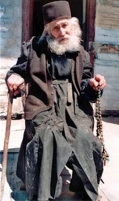 Афонский старец, папа-Иоанн Колицъетис (1906-1996)