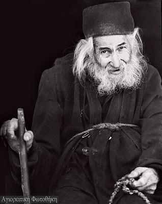 Афонский старец, папа-Иоанн Колицъетис (1906-1996) 1