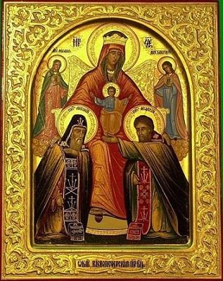 Икона Богородицы Печерская-Нерукотворенная