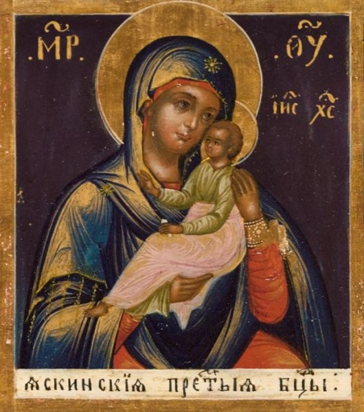 Икона Богородицы Яскинская-Печерская