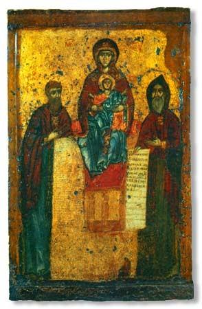Свенская-Печерская икона Божьей матери