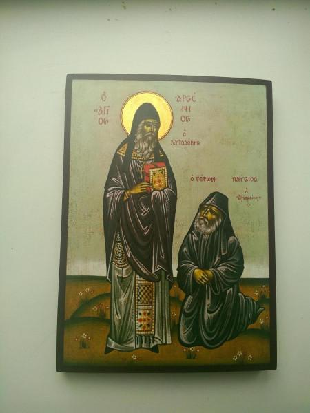 икона прп. Арсения и Паисия