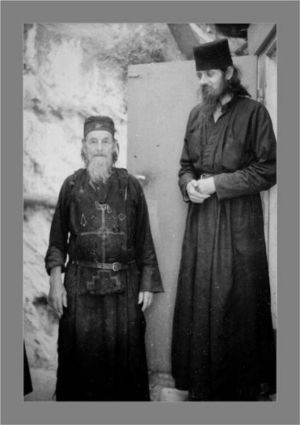 Старец Никодим и Схиархимандрит Стефан Карульские
