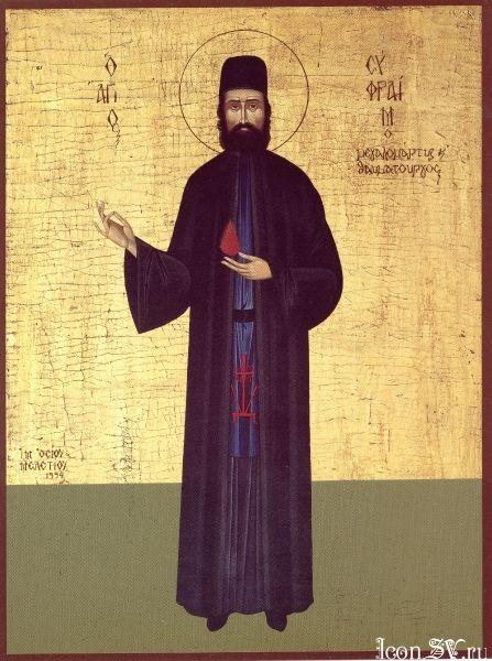 Преподобномученик Ефрем Новый, Неа-Макринский чудотворец