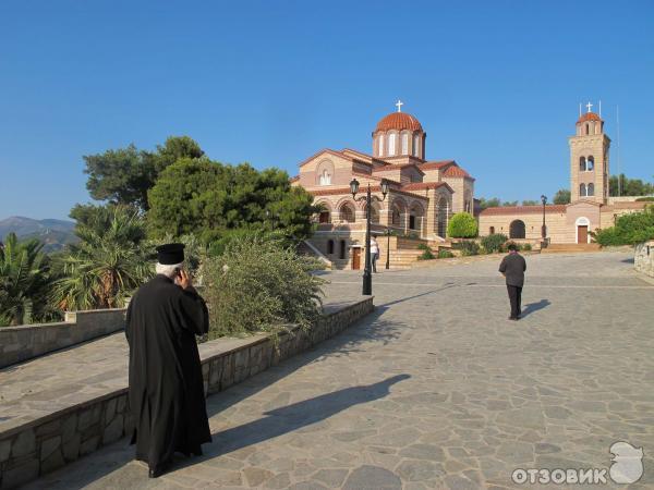 монастырь Благовещения в Нео Макри, Греция