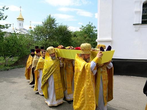 прославление в лице местночтимых святых святителя Илариона (Юшенова) 2