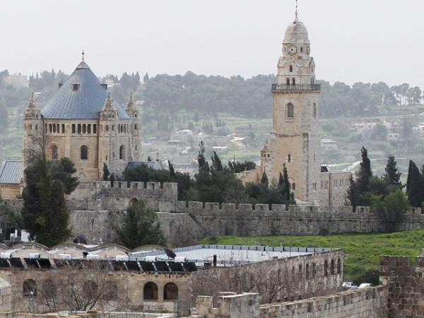 монастырь Успения Пресвятой Богородицы, Израиль, по преданию построен на месте дома ап. Иоанна Богослова