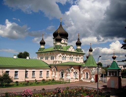 женский монастырь Покрова Божией Матери в Киеве