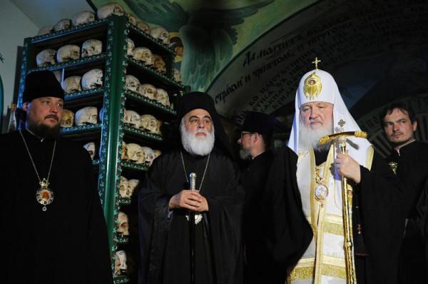 святейший Патриарх Кирилл на Афоне, 2013 2